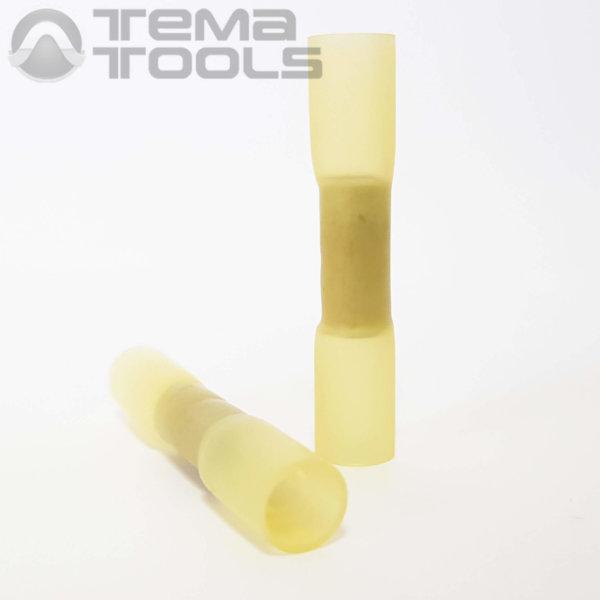 Гильза термоусаживаемая обжимная DS406-003 желтая