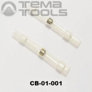 Термоусадочная гильза с припоем CB-01-001 белая