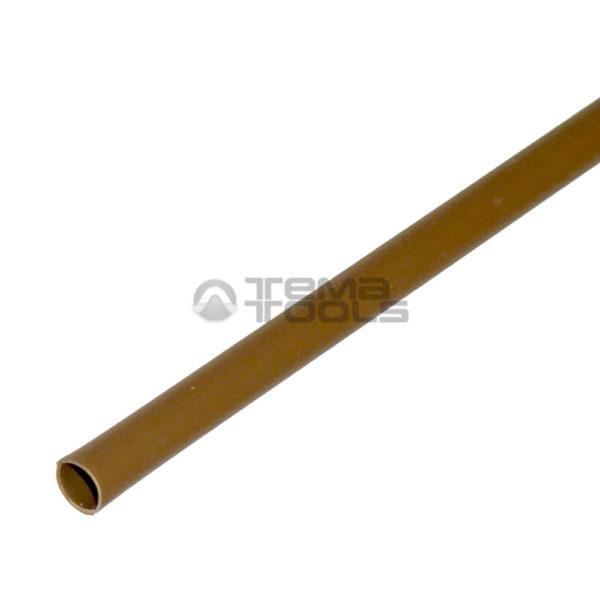 Термоусадочная трубка 2:1 2 мм коричневая