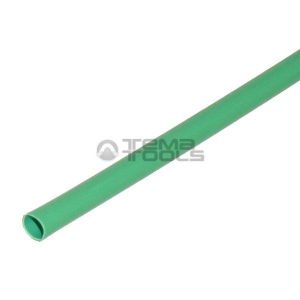 Термоусадочная трубка 2:1 2 мм зеленая