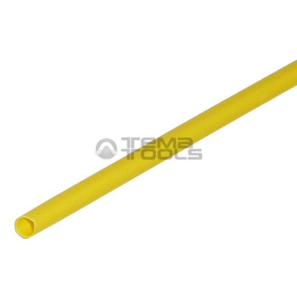 Термоусадочная трубка 2:1 3,5 мм желтая
