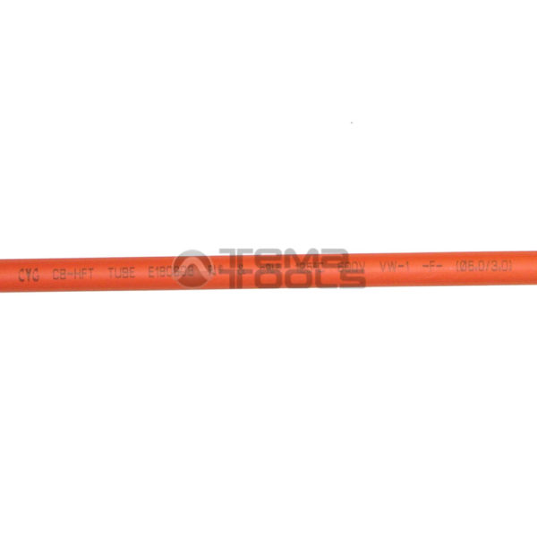 Термоусадочная трубка 2:1 6 мм оранжевая (текст)