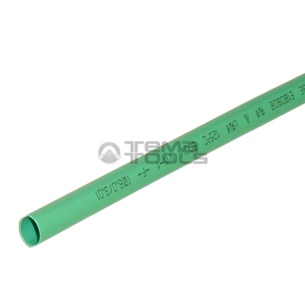Термоусадочная трубка 2:1 6 мм зеленая
