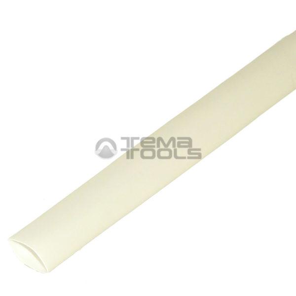 Термоусадочная трубка 2:1 8 мм белая