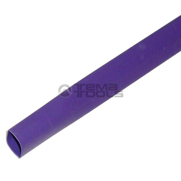 Термоусадочная трубка 2:1 8 мм фиолетовая