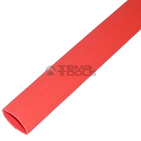 Термоусадочная трубка 2:1 20 мм красная
