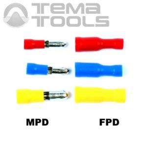 Коннекторы круглые с изоляцией MPD и FPD