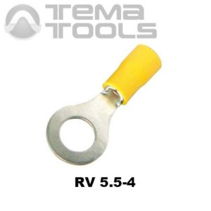 Наконечник кольцевой изолированный RV 5.5-4