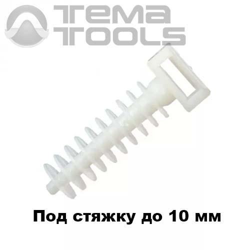 Дюбель 6х30 под кабельную стяжку до 10 мм