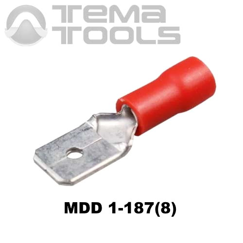 Плоский коннектор MDD 1-187(8) папа