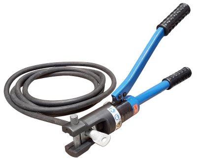 Опрессовка силовых кабельных наконечников