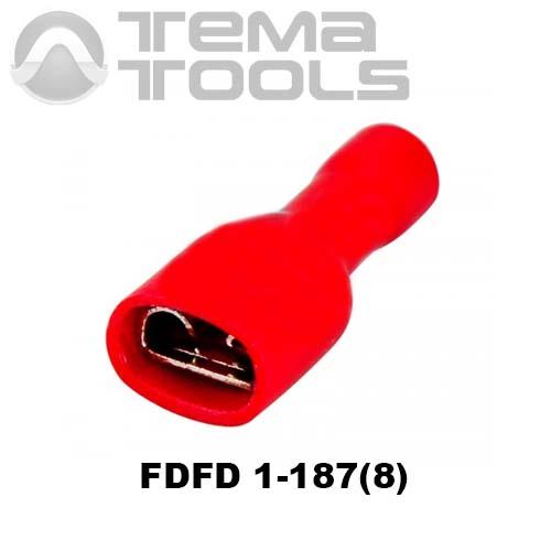 Клемма плоская FDFD 1-187(8) мама