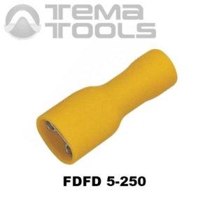 Клемма плоская FDFD 5-250 мама