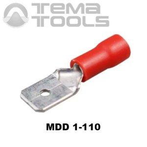 Плоский коннектор MDD 1-110 папа