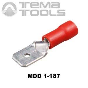 Плоский коннектор MDD 1-187 папа
