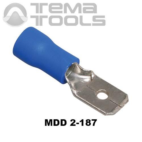 Плоский коннектор MDD 2-187 папа