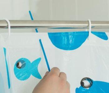 Кабельные стяжки вместо крючков для штор