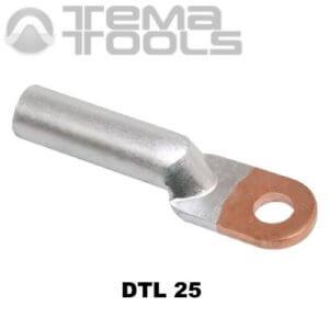Кабельный наконечник медно-алюминиевый DTL 25