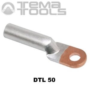 Кабельный наконечник медно-алюминиевый DTL 50