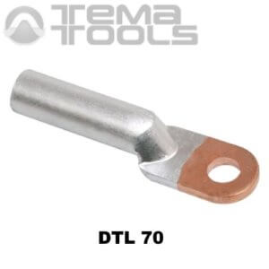 Кабельный наконечник медно-алюминиевый DTL 70