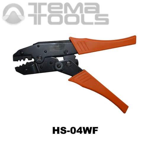 Инструмент опрессовочный HS-04WF (0.75-10 мм²) ручной для втулочных (трубчатых) наконечников