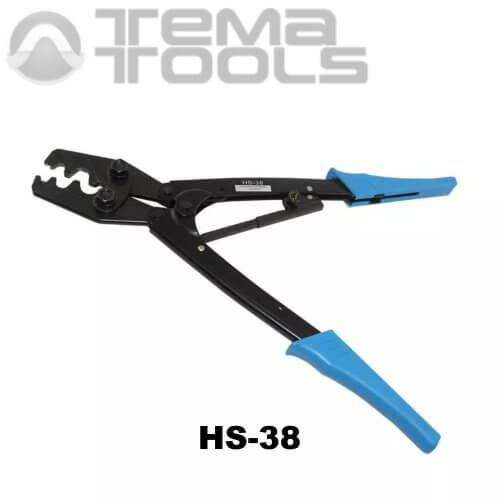 Ручной обжимной инструмент для наконечников HS-38 (6-35 мм²) механический