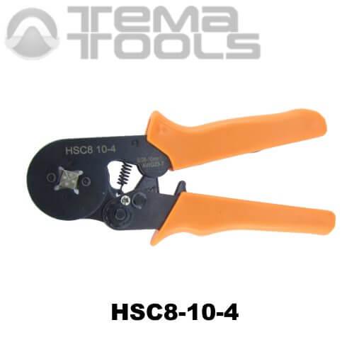 Кримпер пресс-клещи HSC8-10-4 (0,08-10 мм²) для обжима втулочных (трубчатых) наконечников