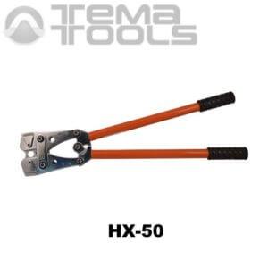 Ручной обжимной инструмент для наконечников HX-50 (6-50 мм²) механический