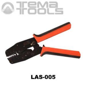 Универсальный инструмент для опрессовки наконечников LAS-005 – ручные механические пресс-клещи