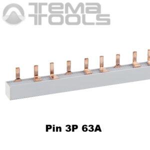 Шина соединительная Pin 3P 63А 1м