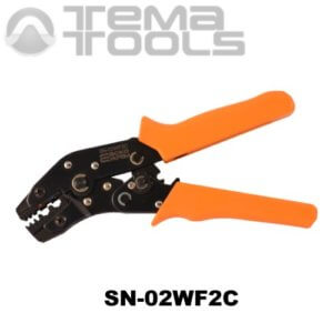 Универсальный инструмент для опрессовки наконечников SN-02WF2C – ручные механические пресс-клещи