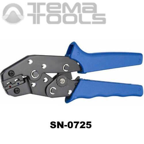 Инструмент опрессовочный SN-0725 (0.5-2.5 мм²) ручной для наконечников с изоляцией