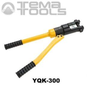 Пресс гидравлический ручной YQK-300B (10 – 300 мм²) для опрессовки силовых наконечников и гильз