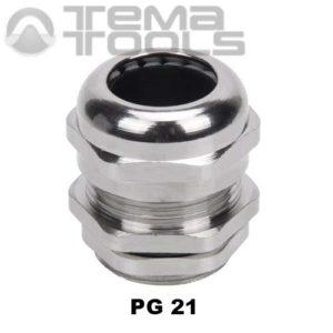 Кабельный ввод металлический PG21