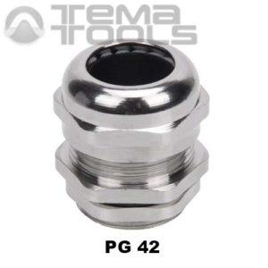 Кабельный ввод металлический PG42
