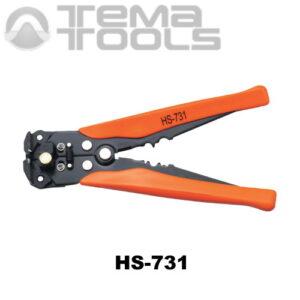 Инструмент для снятия изоляции с проводов HS-731 (0,25-6 мм²)