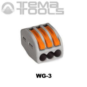 Клемма соединительная WG-3 на 3 провода