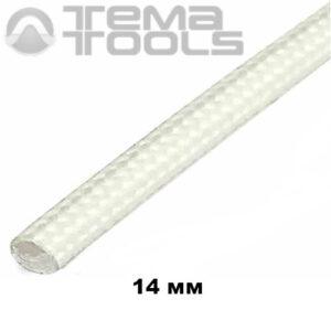 Термостойкая трубка из стекловолокна 14 мм (бухта 50 м)
