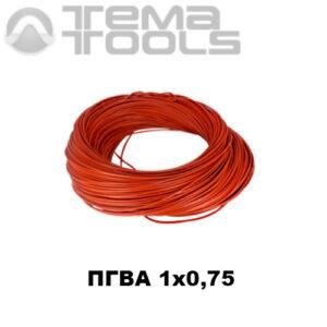 Провод ПГВА автомобильный 1x0,75 красный – купить гибкий монтажный автомобильный провод оптом и в розницу