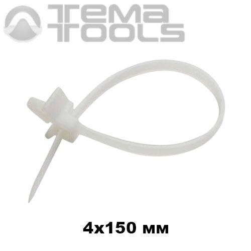 4x150 кабельная стяжка с монтажной головкой