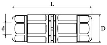 Коннектор L20 чертеж
