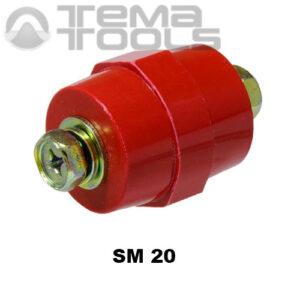 Изолятор шинный SM 20 – купить шинный изолятор бочонок SM (опорный, силовой) оптом и в розницу