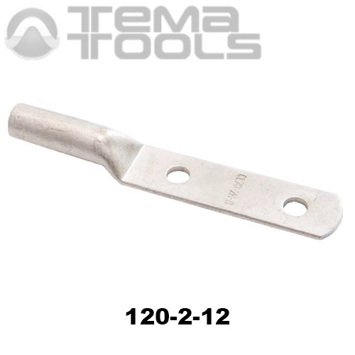 Наконечник кабельный 120-2-12 с двумя крепежными отверстиями