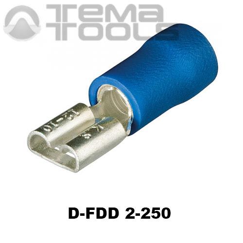 Разъем плоский виброустойчивый D-FDD 2-250 «мама»