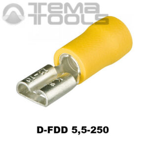Разъем плоский виброустойчивый D-FDD 5,5-250 «мама»