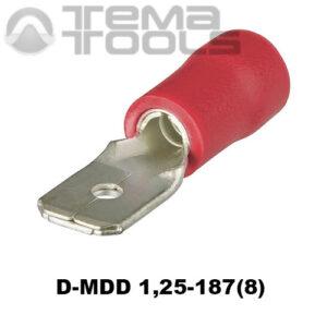 Разъем плоский виброустойчивый D-MDD 1,25-187(8) «папа»