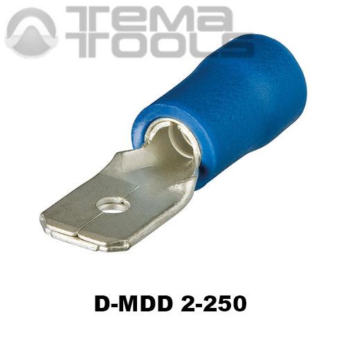 Разъем плоский виброустойчивый D-MDD 2-250 «папа»