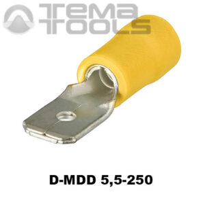 Разъем плоский виброустойчивый D-MDD 5,5-250 «папа»