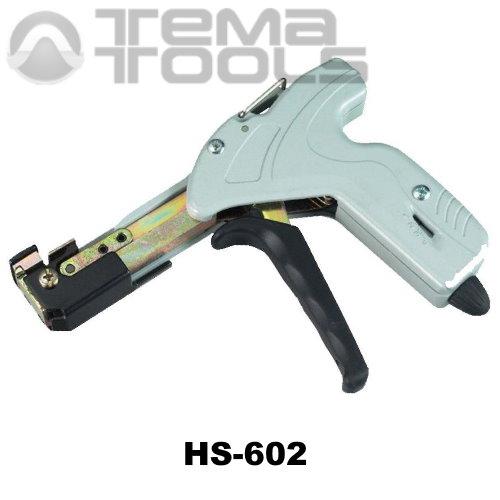 Инструмент HS-602 для затяжки металлических кабельных стяжек – купить инструмент для затягивания и обрезки стяжек