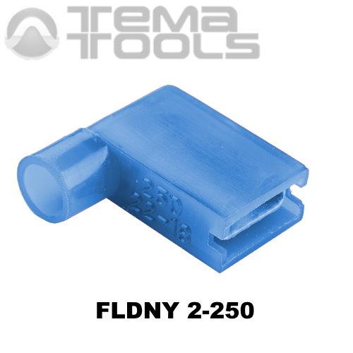 Коннектор плоский угловой FLDNY 2-250 «мама» с полной изоляцией – купить плоский угловой разъем с полной нейлоновой изоляцией